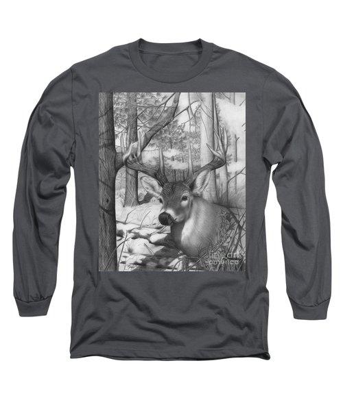 Whitetail Phantom Long Sleeve T-Shirt