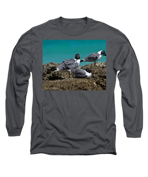 Long Sleeve T-Shirt featuring the photograph Why You Looking? by Robert L Jackson