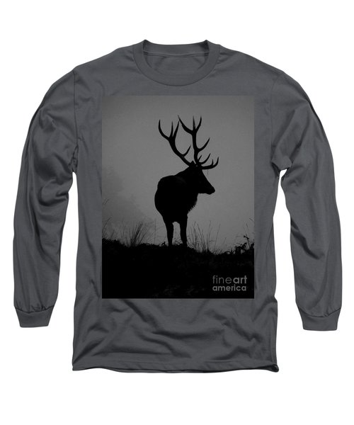 Wildlife Monarch Of The Park Long Sleeve T-Shirt