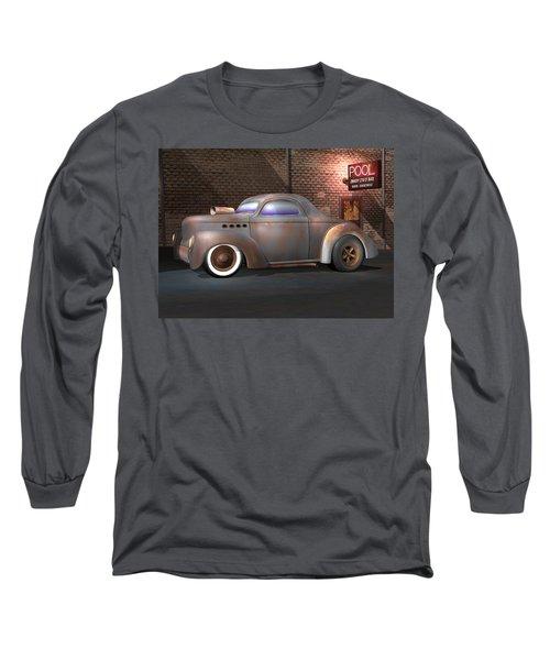 Willys Street Rod Long Sleeve T-Shirt by Stuart Swartz
