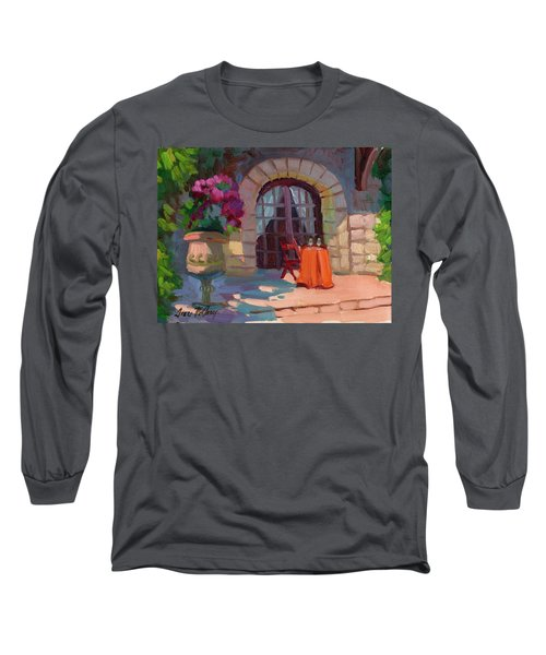 Wine For Two Long Sleeve T-Shirt