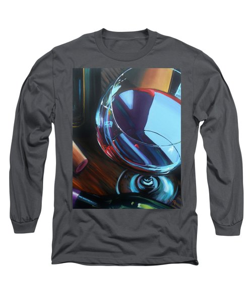Wine Reflections Long Sleeve T-Shirt