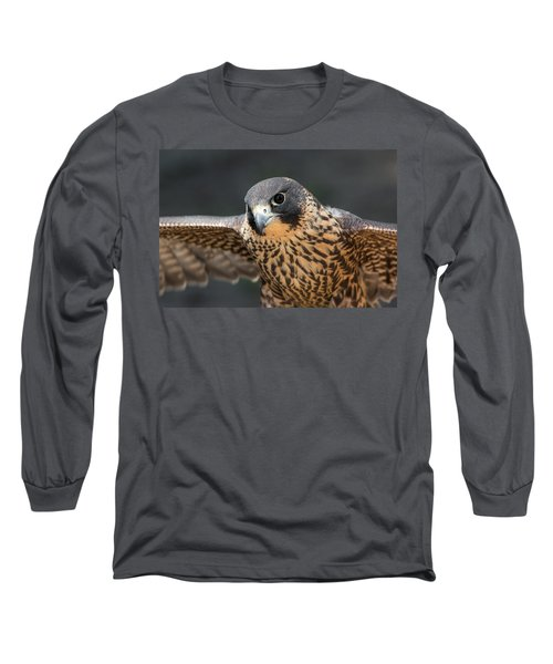Winged Portrait Long Sleeve T-Shirt
