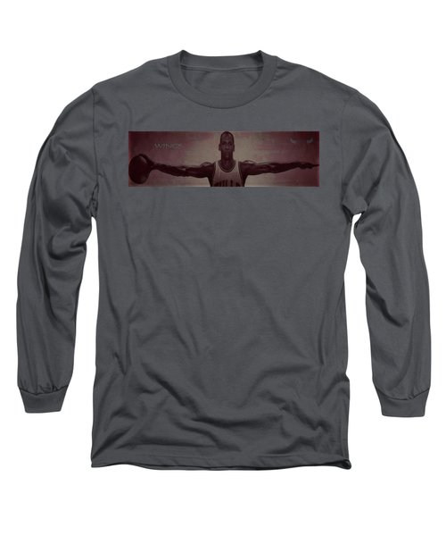 Wings Long Sleeve T-Shirt by Brian Reaves