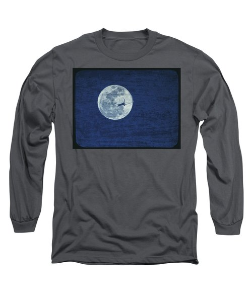 Long Sleeve T-Shirt featuring the photograph Wings by J Anthony