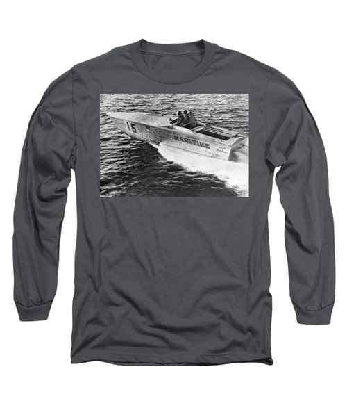 Winner Of The 180 Mile West Palm Beach To Lucaya-freeport Gatewa Long Sleeve T-Shirt
