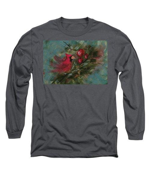 Winter Berries Long Sleeve T-Shirt