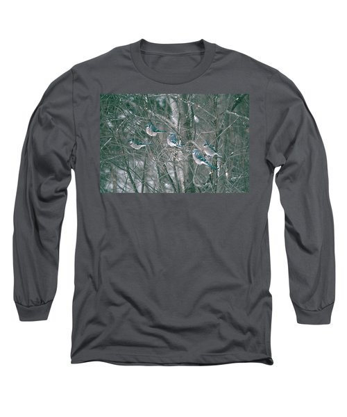 Winter Conference Long Sleeve T-Shirt by David Porteus