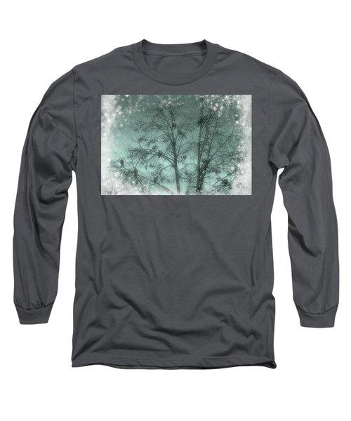 Winter Doves Long Sleeve T-Shirt