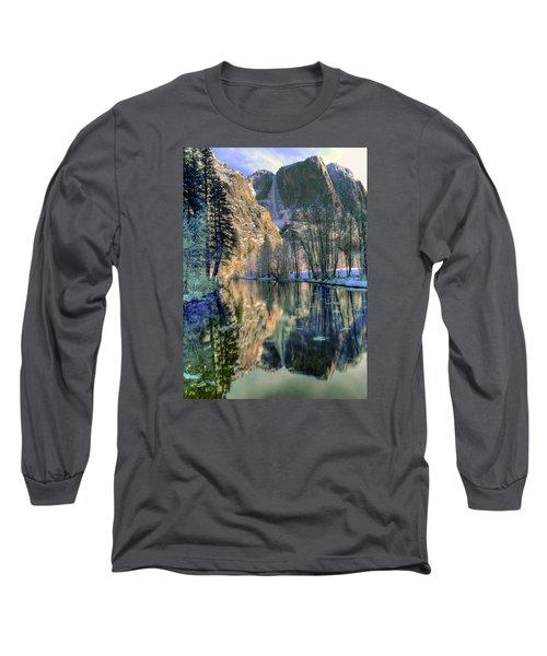 Winter Falls Long Sleeve T-Shirt