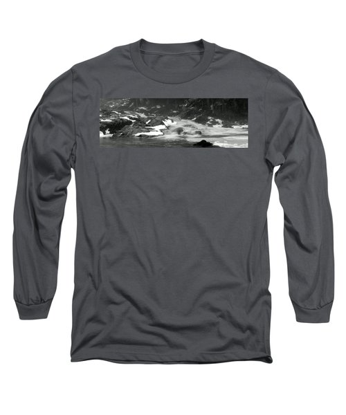 Winter Falls Long Sleeve T-Shirt by Jim Brage