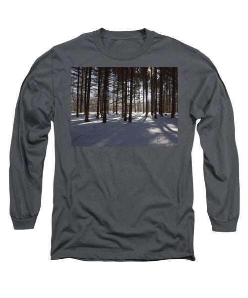 Winter Pines Long Sleeve T-Shirt