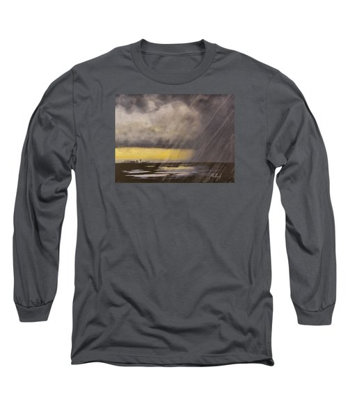 Winter Rain Long Sleeve T-Shirt