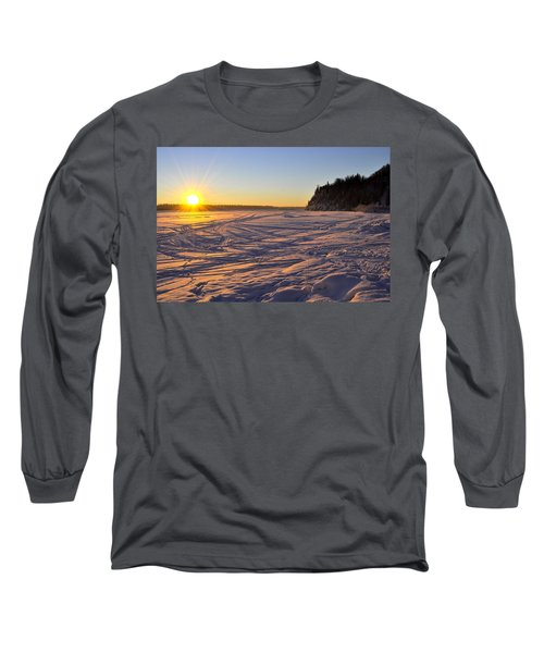 Winter Solstice Long Sleeve T-Shirt by Cathy Mahnke
