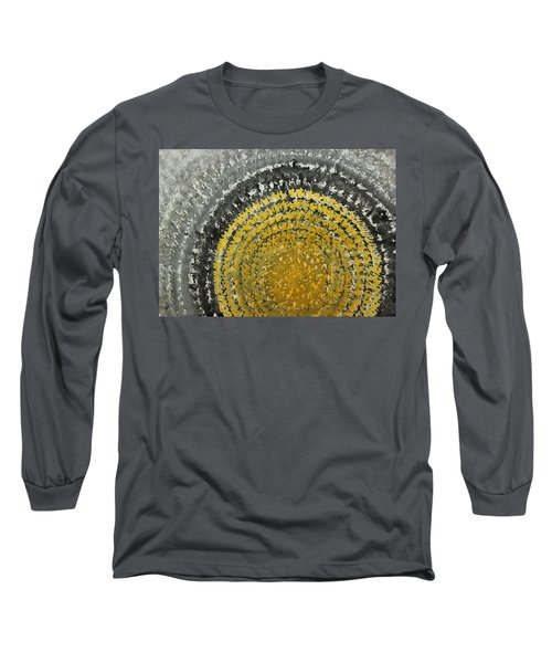 Winter Sun Original Painting Long Sleeve T-Shirt