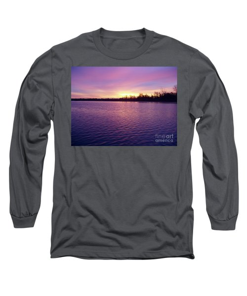 Long Sleeve T-Shirt featuring the photograph Winter Sunrise by John Telfer