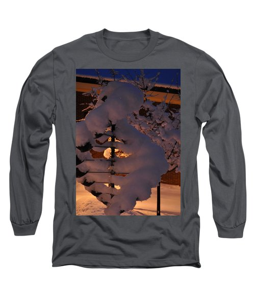 Winter Whirligig Long Sleeve T-Shirt by Jim Brage