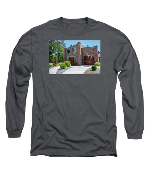 Long Sleeve T-Shirt featuring the photograph Wisconsin State Firefighters Memorial 6 by Susan  McMenamin