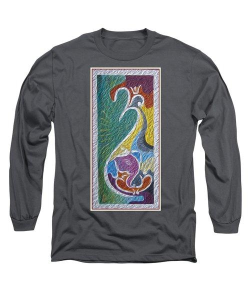 Wisdom And Peace I Long Sleeve T-Shirt by Sonali Gangane