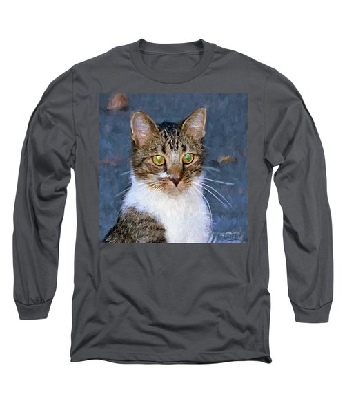 With Eyes On Long Sleeve T-Shirt