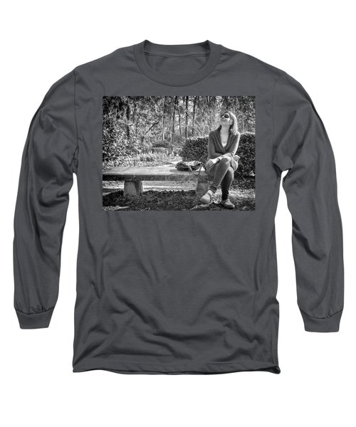 Long Sleeve T-Shirt featuring the photograph Wonder by Howard Salmon