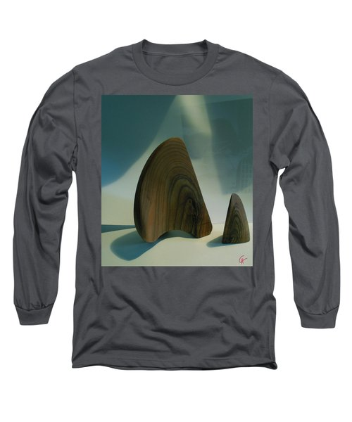 Long Sleeve T-Shirt featuring the photograph Wood Zen Harmony by Colette V Hera  Guggenheim