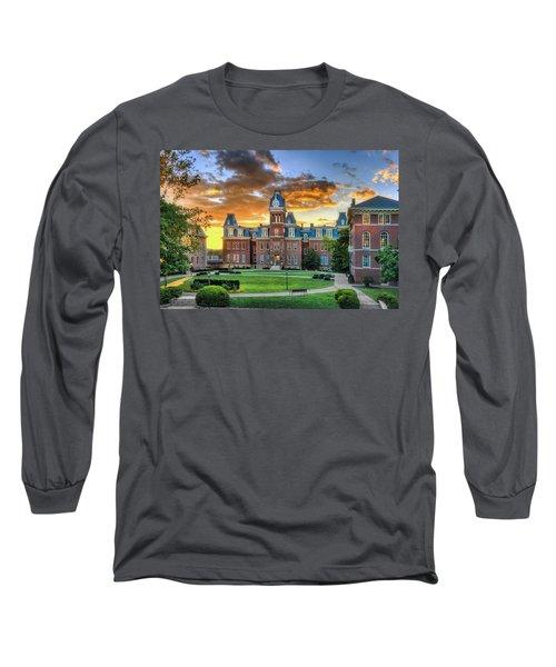 Woodburn Hall Evening Sunset Long Sleeve T-Shirt