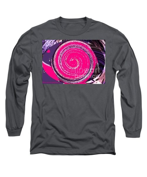 Long Sleeve T-Shirt featuring the digital art Work Of Art by Catherine Lott