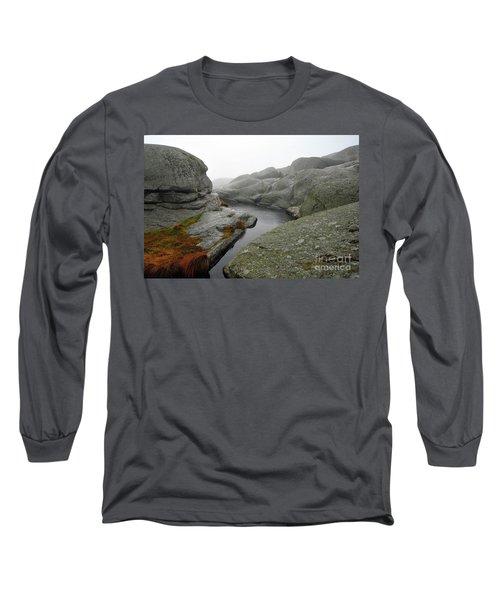 Long Sleeve T-Shirt featuring the photograph World's End 1 by Randi Grace Nilsberg