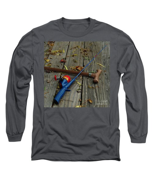 Wrapped In Time Long Sleeve T-Shirt by Peter Piatt