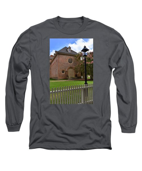 Wren Chapel At William And Mary Long Sleeve T-Shirt by Jerry Gammon