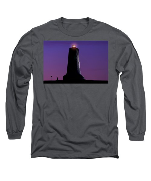 Long Sleeve T-Shirt featuring the photograph Wright Brothers Memorial by Greg Reed