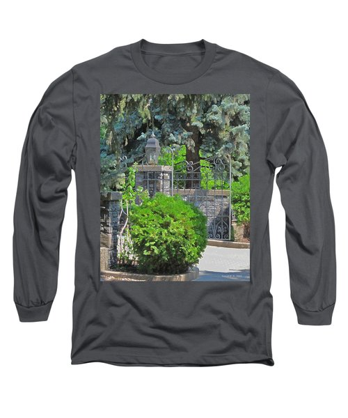 Wrought Iron Gate Long Sleeve T-Shirt