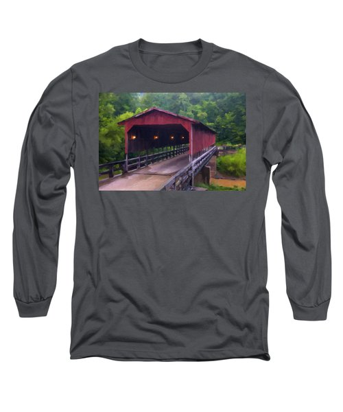 Wv Covered Bridge Long Sleeve T-Shirt