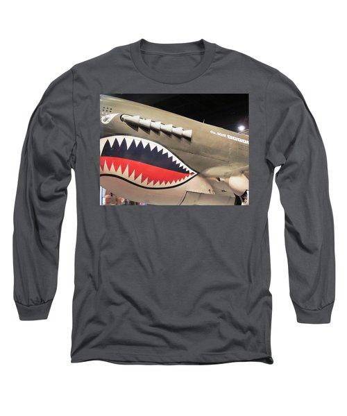 Wwii Shark Long Sleeve T-Shirt