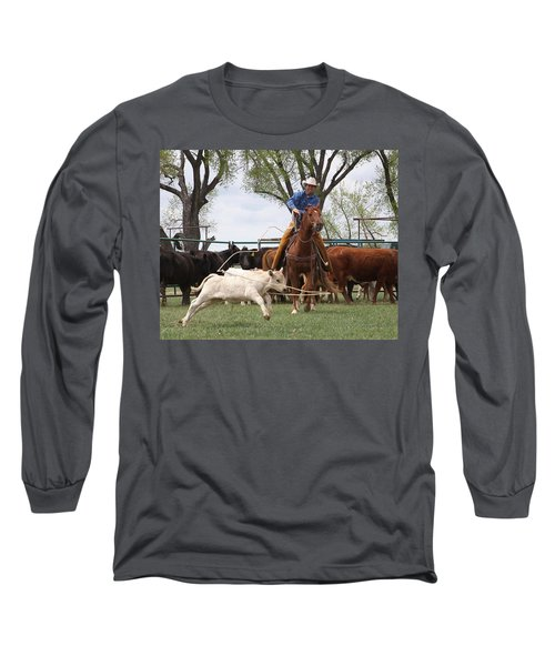 Wyoming Branding Long Sleeve T-Shirt