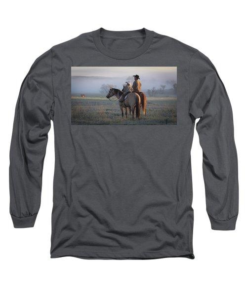 Wyoming Ranch Long Sleeve T-Shirt