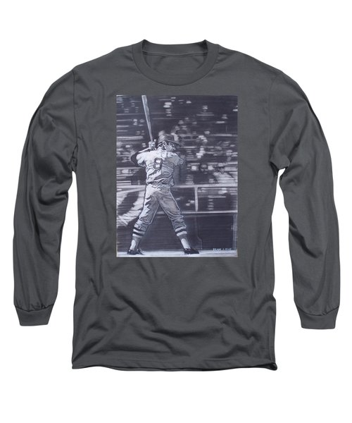 Yaz - Carl Yastrzemski Long Sleeve T-Shirt by Sean Connolly