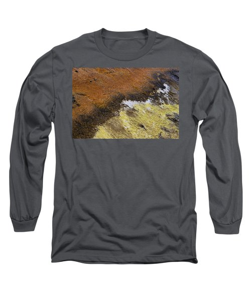 Yellow And Orange Converging Long Sleeve T-Shirt