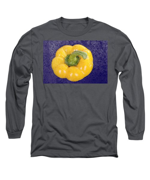 Long Sleeve T-Shirt featuring the photograph Yellow Bell Pepper by Vizual Studio