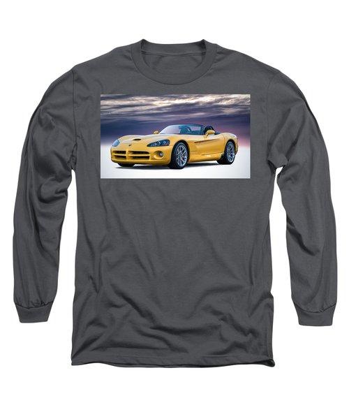 Yellow Viper Convertible Long Sleeve T-Shirt