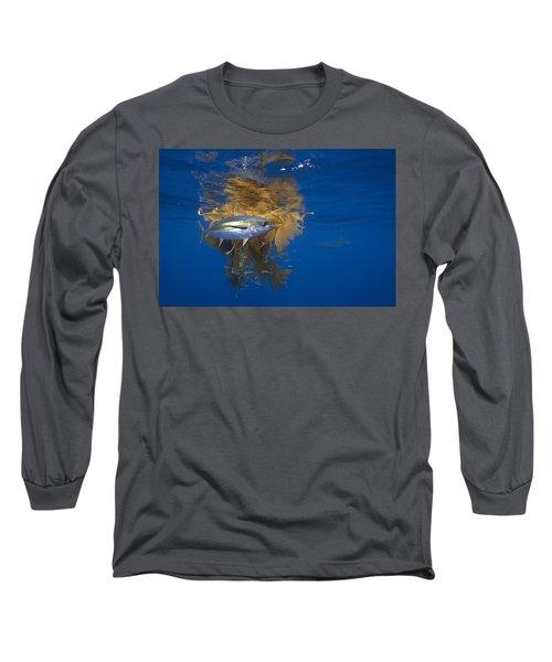 Yellowfin Tuna And Kelp Nine-mile Bank Long Sleeve T-Shirt