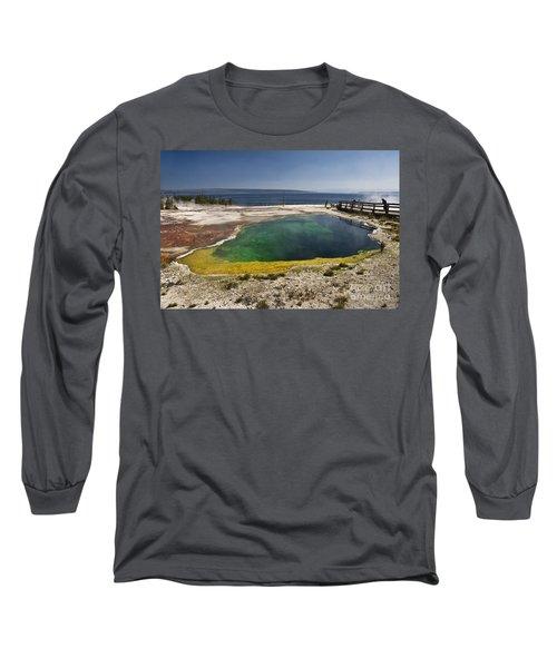 Yellowstone Lake Long Sleeve T-Shirt