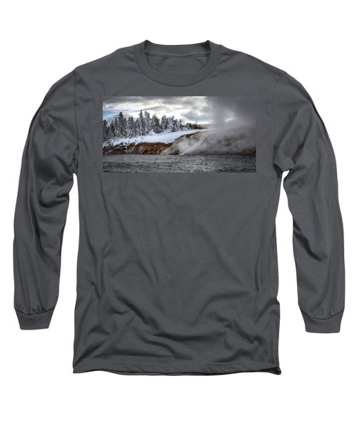 Yellowstone's Fire And Ice Long Sleeve T-Shirt