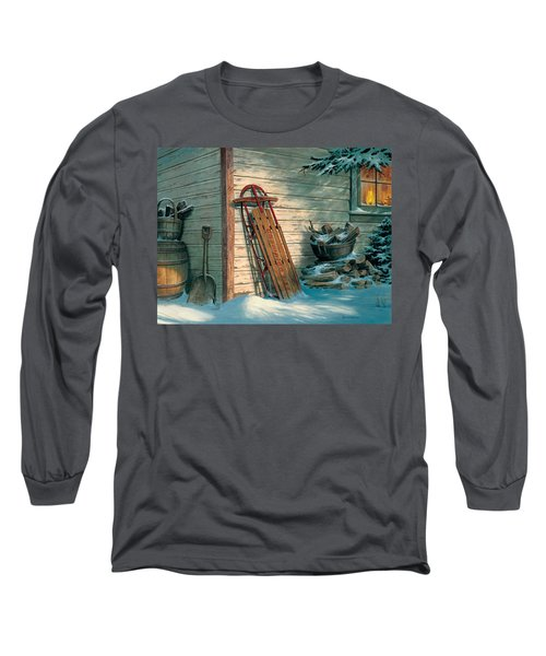 Yesterday's Champioin Long Sleeve T-Shirt by Michael Humphries