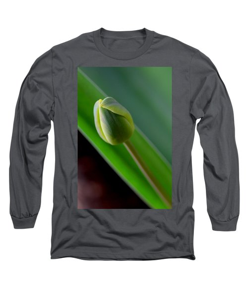 Young Tulip Long Sleeve T-Shirt by Lisa Phillips