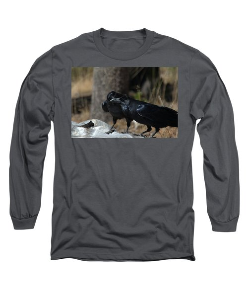 You've Got Something On Your Beak Long Sleeve T-Shirt