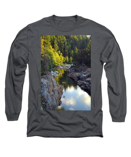 Yuba River Twilight Long Sleeve T-Shirt