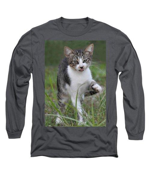 Yuck Long Sleeve T-Shirt by Charlotte Schafer