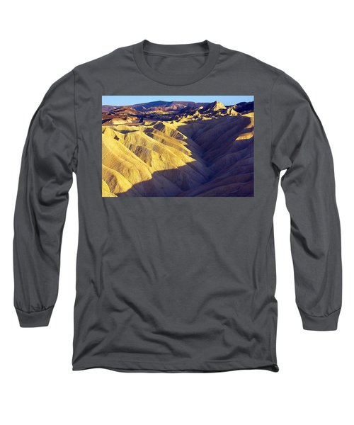 Zabriski Point #2 Long Sleeve T-Shirt by Stuart Litoff